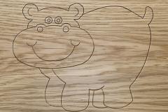Hippo Engrave Design