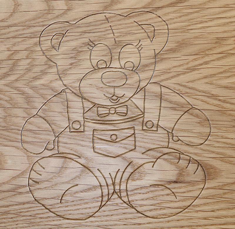 Bear Engrave Design
