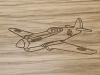 Plane Engrave Design