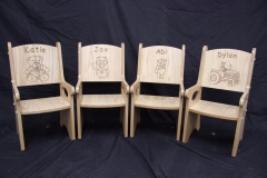 Children's Personalised Engrave Chairs