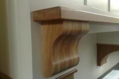 Mantle Corbal And Shelf